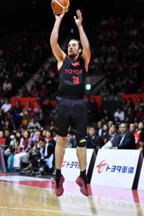 ざっくばらん ザック・バランスキー バスケットボール アルバルク東京