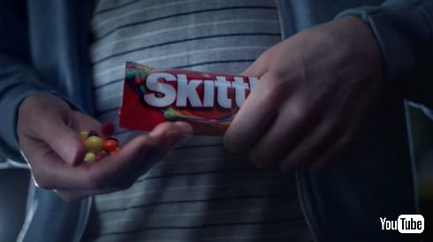 Skittles スーパーボウル CM シュール キャンディー