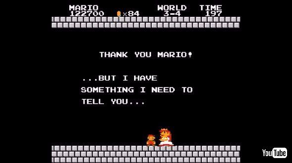 マリオを短調で
