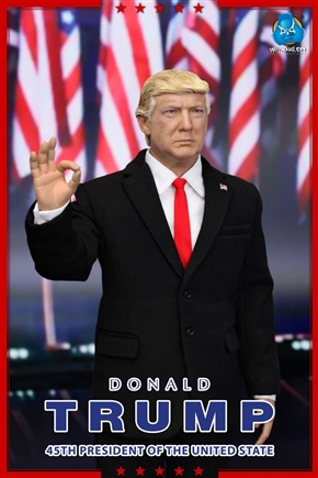 トランプ大統領がアクションフィギュアになって登場 リアルすぎて表情加工するアプリもばっちり認識