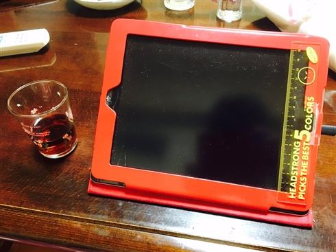 お母さんの人力アドブロック 母親にiPadを貸したらハイテク改造されて返ってきた