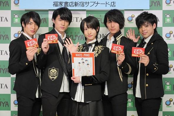 (左から)平野泰新さん、永田薫さん、西岡健吾さん、阿部周平さん、大城光さん