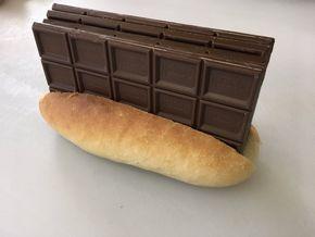 バレンタイン パン チョコ