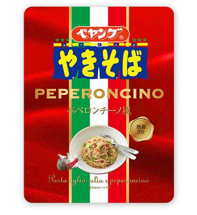 ペヤング ペペロンチーノ風やきそば 商品画像