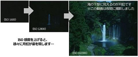月虹の写真