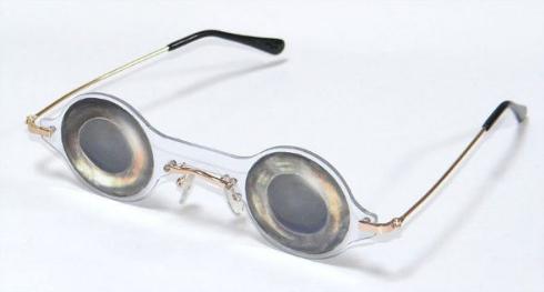 死んだ魚の目 メガネ アジ げんれい工房