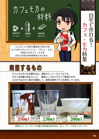同人誌「珈琲読本 Volume.9 〜ホットカフェモカ特集号〜」
