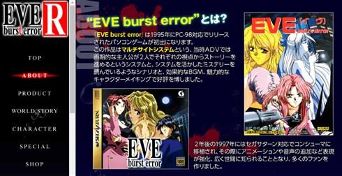 「EVE」「DESIRE」で知られたアダルトゲームメーカー、姫屋ソフトが倒産 セガサターンなどに移植され一時代を築く