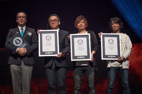 ファイナルファンタジー ギネス 世界記録 認定 最もタイトル数の多い RPG