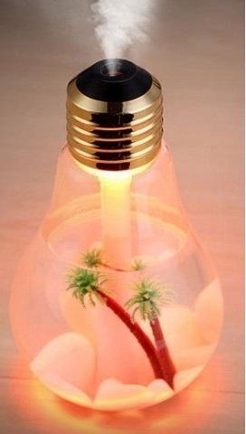 電球型加湿器