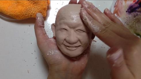 紙粘土 工作 笑福亭鶴瓶