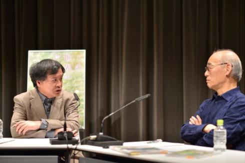 富野由悠季、片渕須直両監督の対談が実現