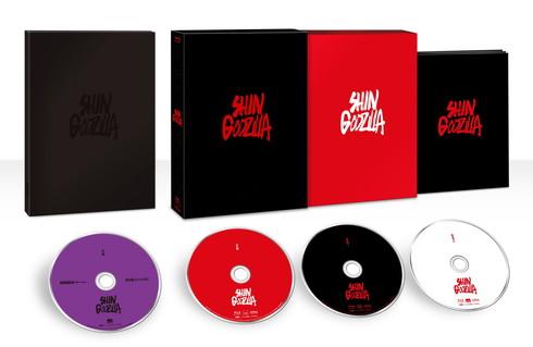 映画「シン・ゴジラ」のBlu-ray&DVD特典情報