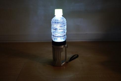 警視庁警備部災害対策課 懐中電灯 ペットボトル ランタン 災害時