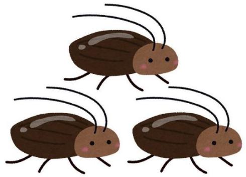 ゴキブリ 単為生殖 メス 3匹 生殖促進