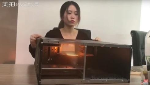 オフィス 料理 中国