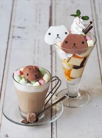 KAPIBARASAN×HANDS CAFE