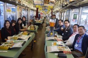 西武鉄道 同窓会電車 2017年 ビール