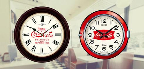 コラボ掛け時計