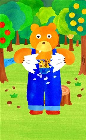 悩みを火にくべ破り裂く 悩み相談アプリ「聞いてよクマさん」のクマさんスマイルが謎破壊力