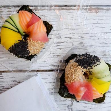 寿司 ドーナツ Sushi donut