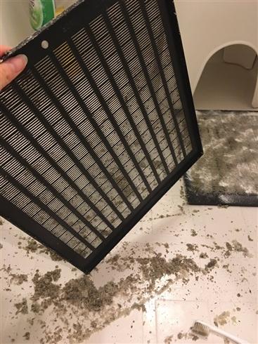 重曹だけで換気扇フィルターがピカピカに 洗剤いらずの掃除方法がTwitterで話題