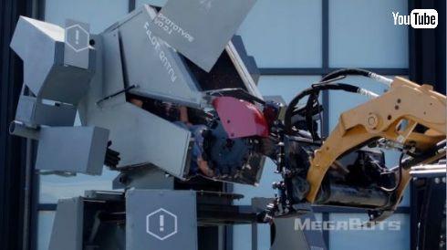 ロボット対決 クラタス MegaBots