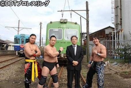 DDT 電車プロレス