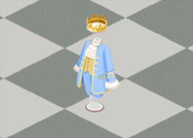 王子様風衣装