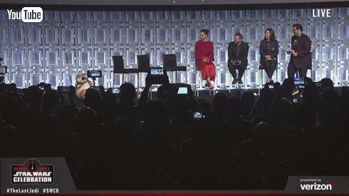 「スター・ウォーズ/最後のジェダイ」予告編解禁! シリーズ40周年記念のメモリアルイベントにて