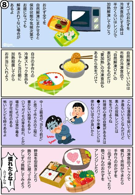 ズボラ弁当の作り方