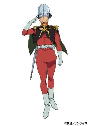 シャアの階級は中尉