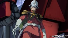 指揮官としてルウム会戦に参加するシャア