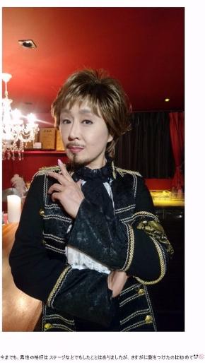 小林幸子 男装