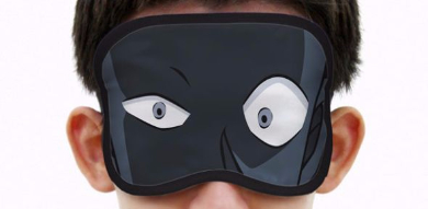 犯人アイマスク