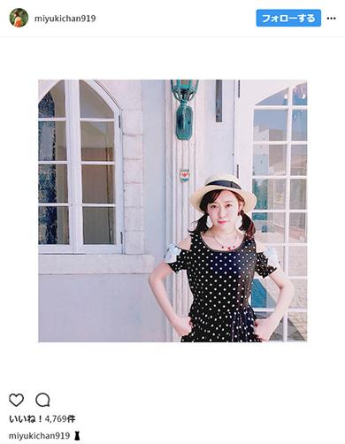 渡辺美優紀Instagram