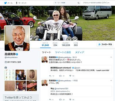 高須さんのTwitter