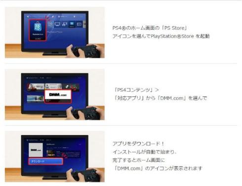DMM VR 動画 PlayStation VR 対応