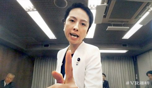 民進党 VR蓮舫 ニコニコ超会議2017