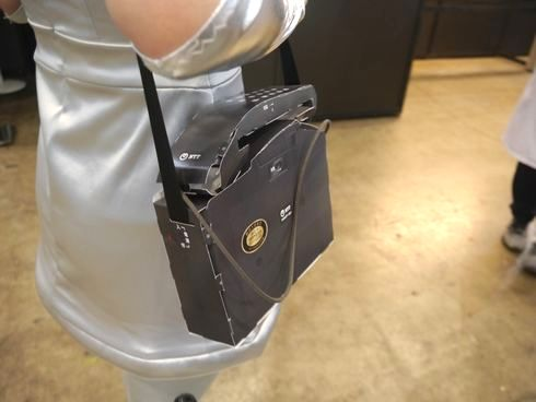 ニコニコ超会議 NTT 携帯 ペーパークラフト