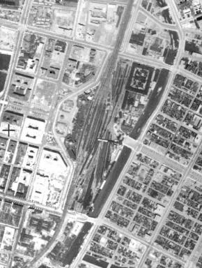 地理院 地図 戦前 東京 23区 空中写真
