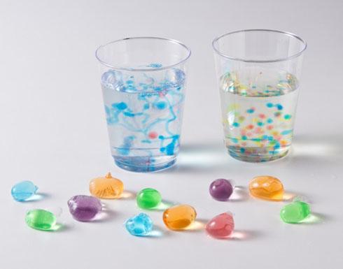 水をぽよぽよに固める実験キット「カラフル水だんご」、学研から発売 粉を溶かして合わせるだけ
