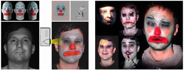 ディズニー 顔面 プロジェクションマッピング