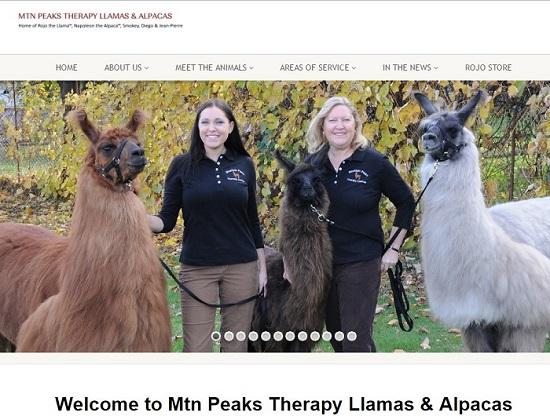 Mtn Peaks Therapy Llamas & Alpacas