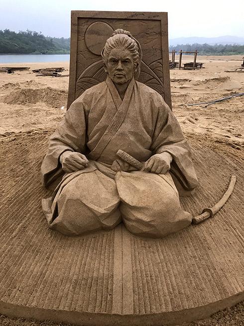 宮本 武蔵 彫刻