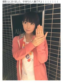ブログでも人妻役に興奮の中川さん