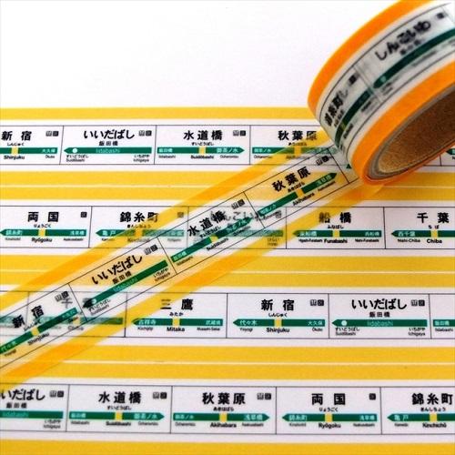 鉄道マスキングテープ