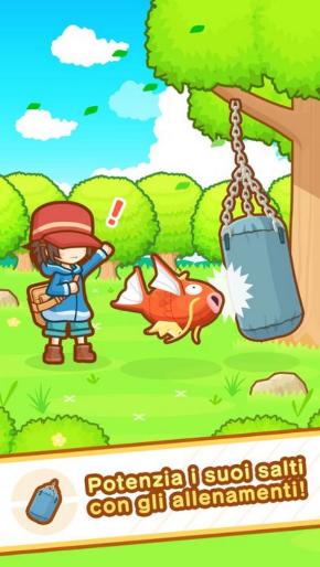 はねろ! コイキング ポケモン スマホ ゲーム アプリ