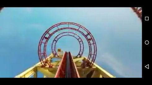 ユニバーサル・スタジオ・フロリダ 動画 パノラマ ジェットコースター
