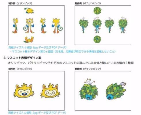 東京 五輪 パラリンピック マスコット 公募